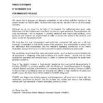 PAMSC Press Statement 181206
