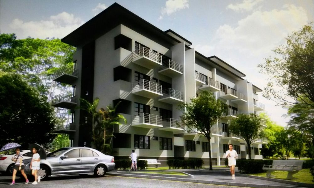 4 Blocks 4-Storey Apartment (Regalia Apartment)